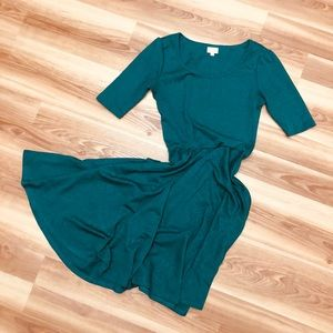 Brand New LulaRou Emerald green dress. Medium